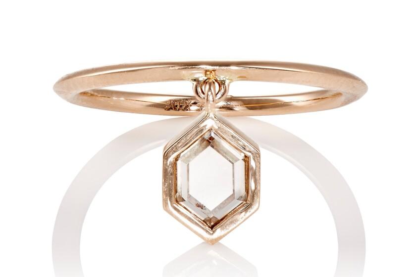 Diamond Foundry x Barneys micro jewelry collection.