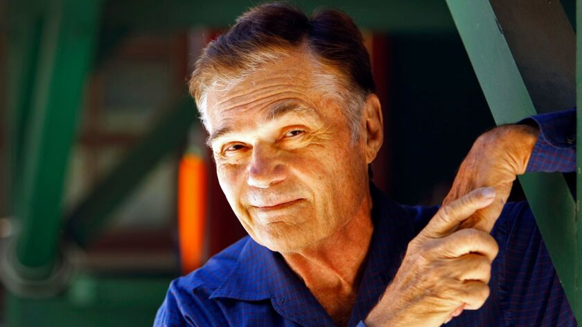 Actor Fred Willard at his home in Encino in 2012.