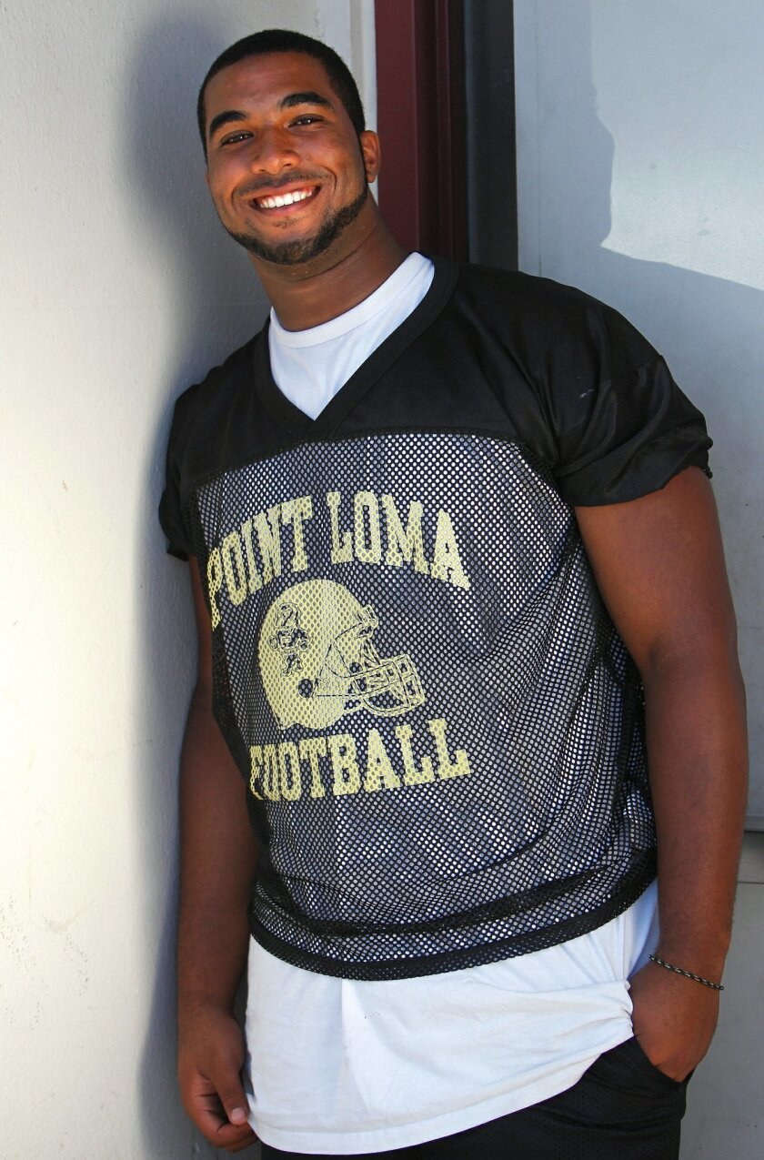 Point Loma High's Christian Heyward comes from a family of athletes.