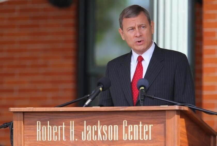 Roberts to Congress: We warned you about voting rights