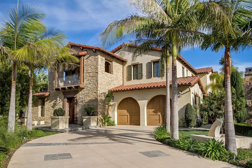 T.J. Houshmandzadeh's Newport Coast home | Hot Property