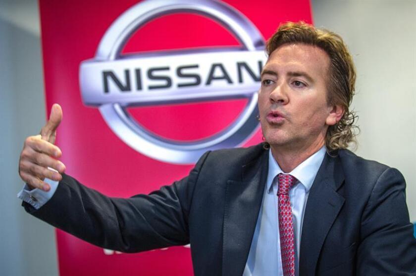 Fotografía fechada el 5 de septiembre de 2018 que muestra al presidente de Nissan para América Latina, José Luis Valls, durante una entrevista con Efe, en Miami, Florida (EE.UU.). EFE