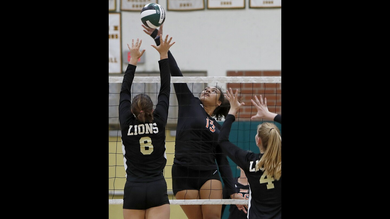Photo gallery: Huntington Beach vs. JSerra in girls' volleyball