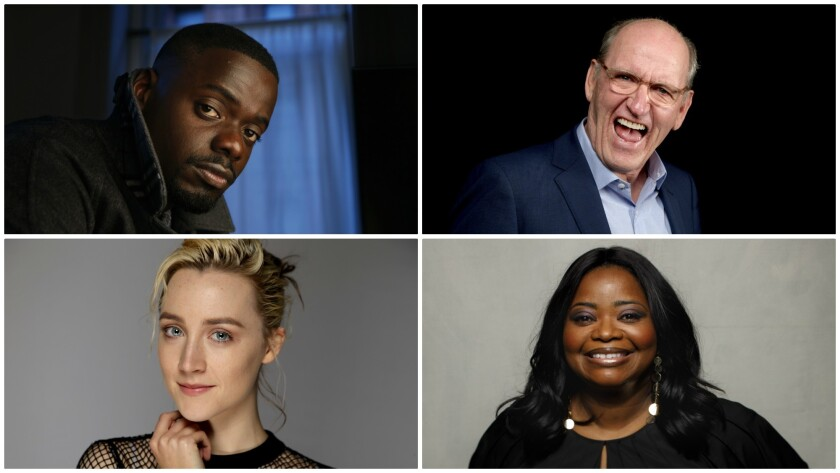 Click through for portraits of the 2018 Oscar acting nominees.