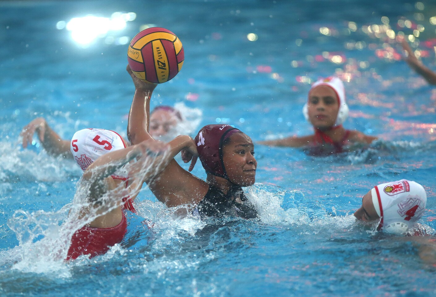 Photo Gallery: Laguna Beach vs. Mater Dei in girls' water polo