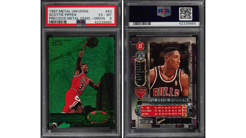 Holy Grail Michael Jordan Card Sells For 350 100 Setting An Ebay Record Los Angeles Times