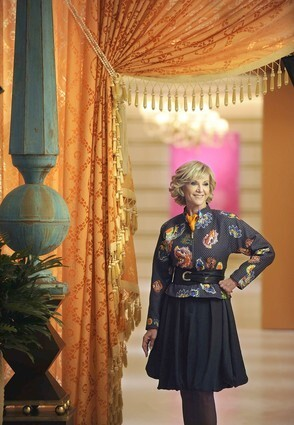 Elaine Wynn, the director of Wynn Resorts, wears Giorgio Armani at the entrance to the new Spa at Encore in Las Vegas. The wife of billionaire casino mogul Steve Wynn truly has the Eloise life, living in a villa on the grounds of the Wynn hotel with a staff to cater to her every whim, dining, working and, in this case, shopping on the premises and charging it all to a house account.