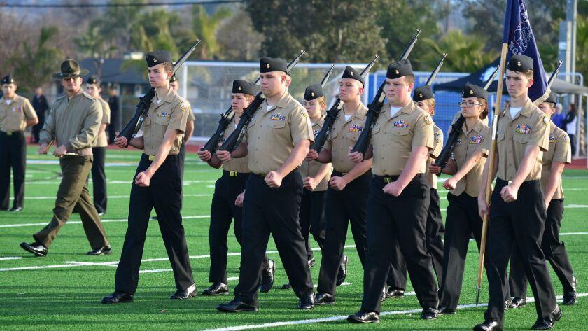 NJROTC cadets