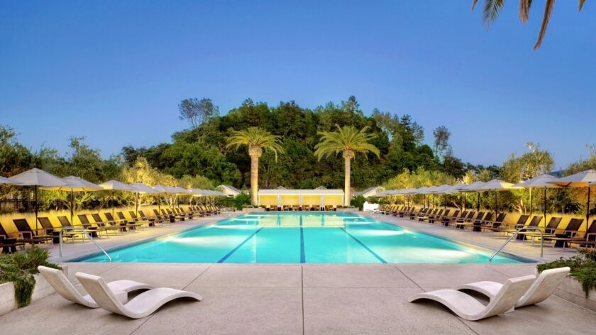 Solage in Calistoga joins Forbes' Five-Star ratings for the first time in 2017. It has 89 rooms and suites, and opened in 2007.