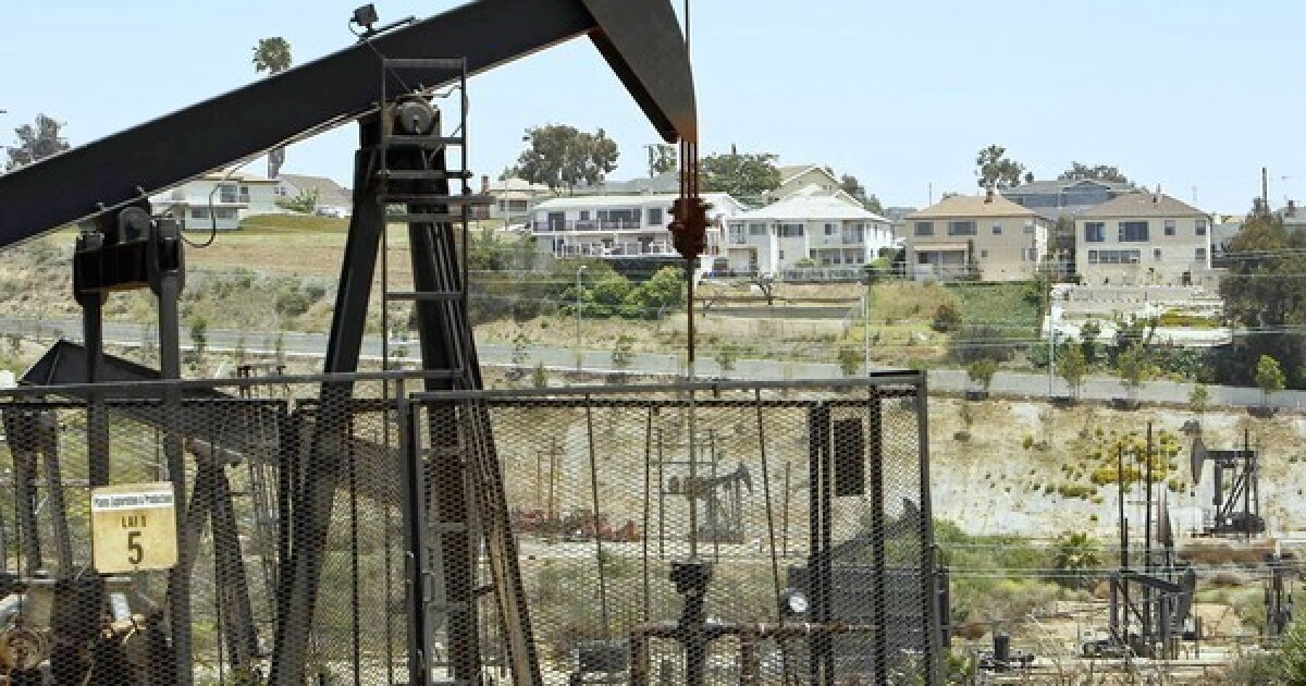 Why there are oil wells all over Southern California