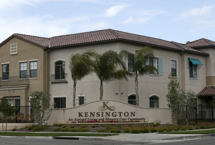 The Kensington Redondo Beach assisted living facility