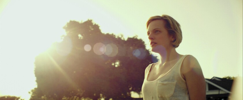 """Elisabeth Moss in """"The One I Love."""""""