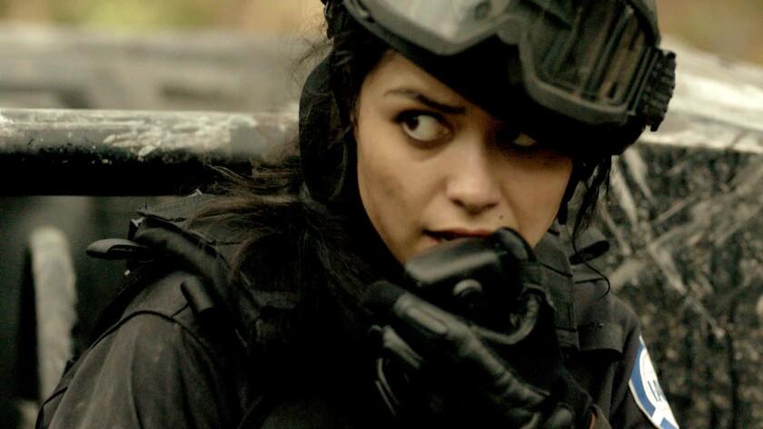 "Alyssa Diaz in ""Zoo"" on CBS."