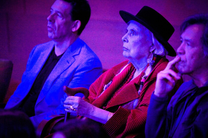 Joni Mitchell makes rare public appearance at Brandi Carlile 'Blue' tribute