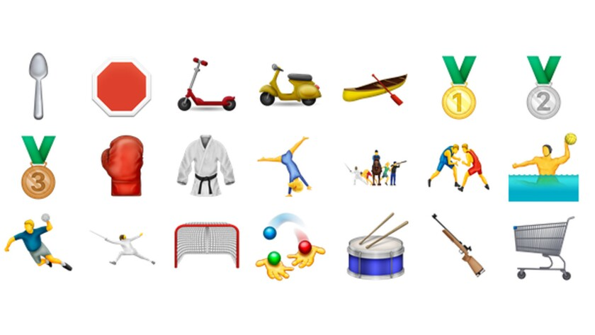 More of the new emojis.