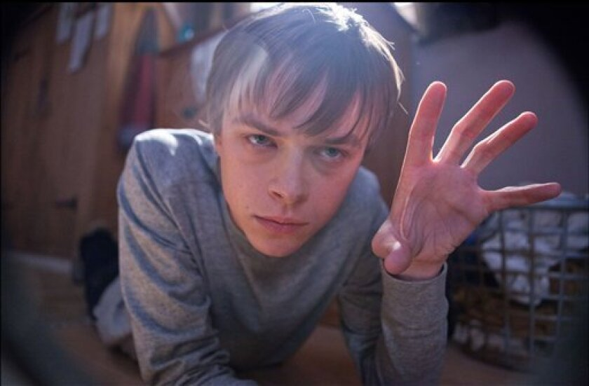 """In this film image released by 20th Century Fox, Dane DeHaan is shown in a scene from """"Chronicle."""" (AP Photo/20th Century Fox, Alan Markfield)"""