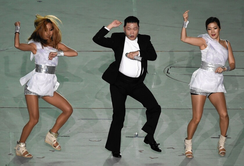 YouTube is now one of the main ways new artists get discovered and established players get the word out about new music. Official videos by artists such as Psy, pictured, have amassed hundreds of millions of views, and have helped propel them to worldwide fame.
