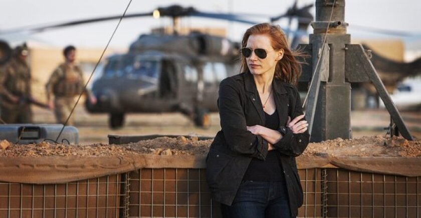 Will senators' slam on 'Zero Dark Thirty' hurt it at awards time?