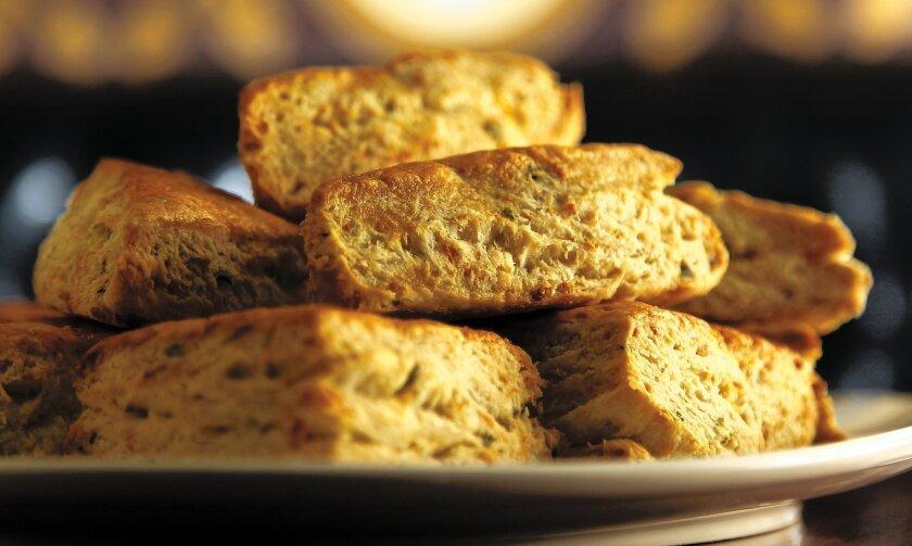 Basil Cream  Biscuits, created by chef Matt Gordon.