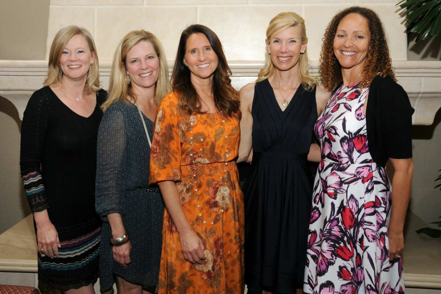 St. Germaine's officers April Winograd, Mary Levinson, Wendy Neri, Betsy Witt and Ruth Leivers (St. Germaine Children's Charity held its annual Membership & Grants Luncheon June 7, 2016 at La Jolla Country Club.)