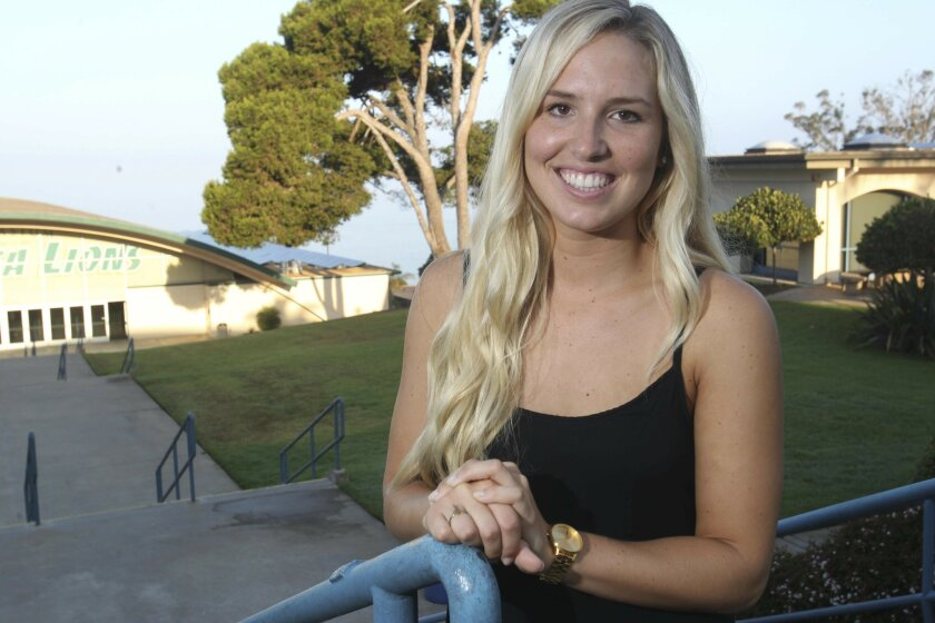 Point Loma Nazarene University student Natalie Hamill juggled college and caregiving when her mother was diagnosed with Alzheimer's.