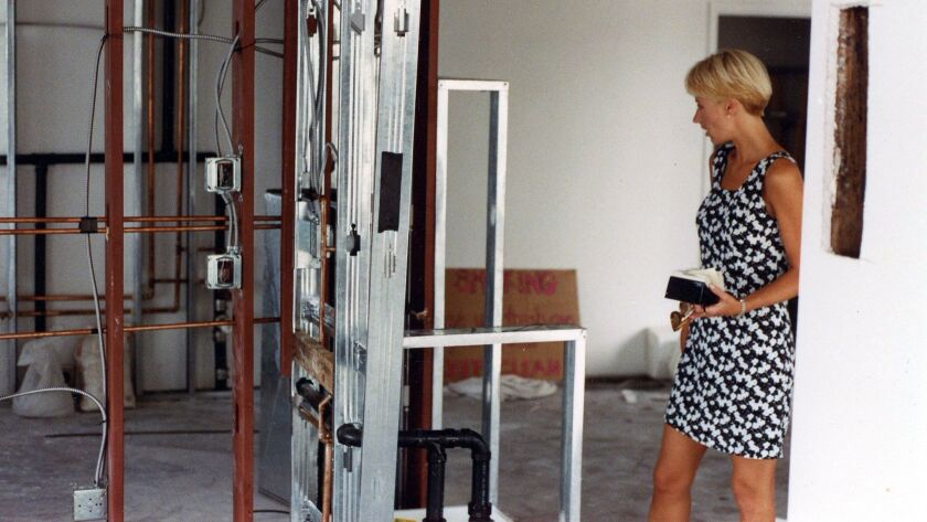 1991 -- Early construction of Cafe 222. I had no idea what I was looking at or getting into, but you