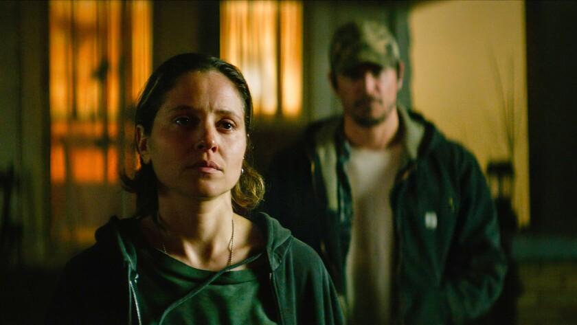 Margarita Levieva and Josh Hartnett in the movie 'Inherit the Viper'