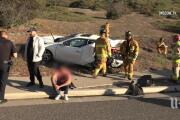 Illegal U-turn causes 3-car crash in Chula Vista that sends 4 to hospital
