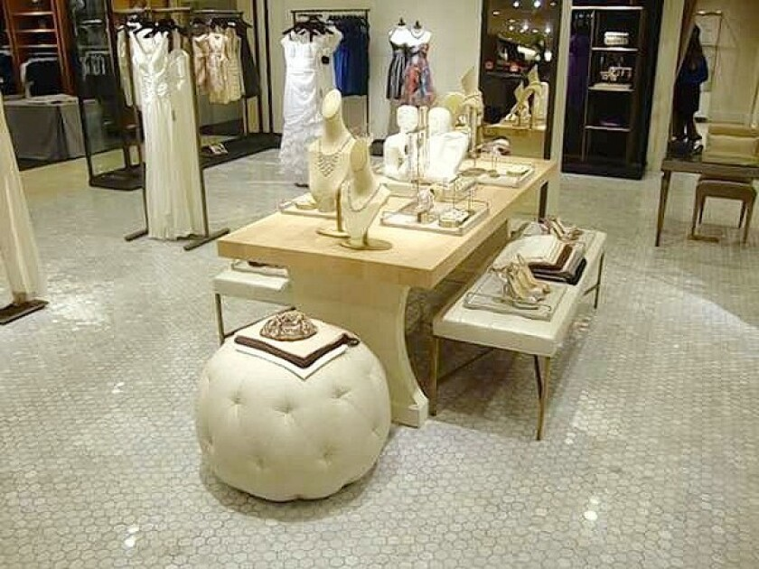 The new Wedding Suite at Nordstrom in the Westfield Topanga shopping center.