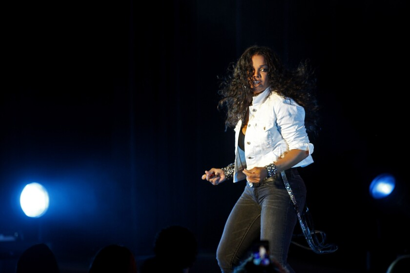 Janet Jackson performs at the Greek Theatre on Sept. 1, 2011.