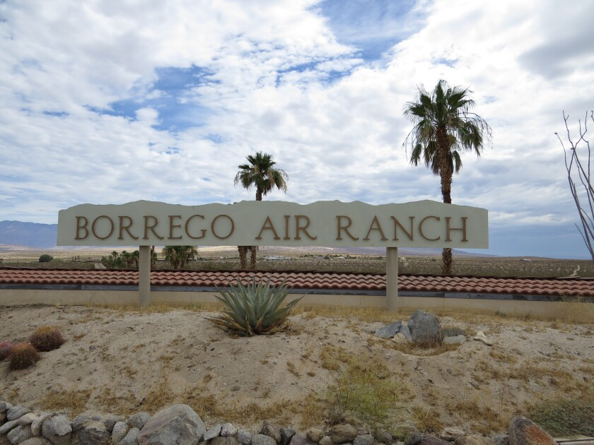 The Borrego Air Ranch, a tiny community built around a private air strip on the outskirts of Borrego Springs, has a water problem