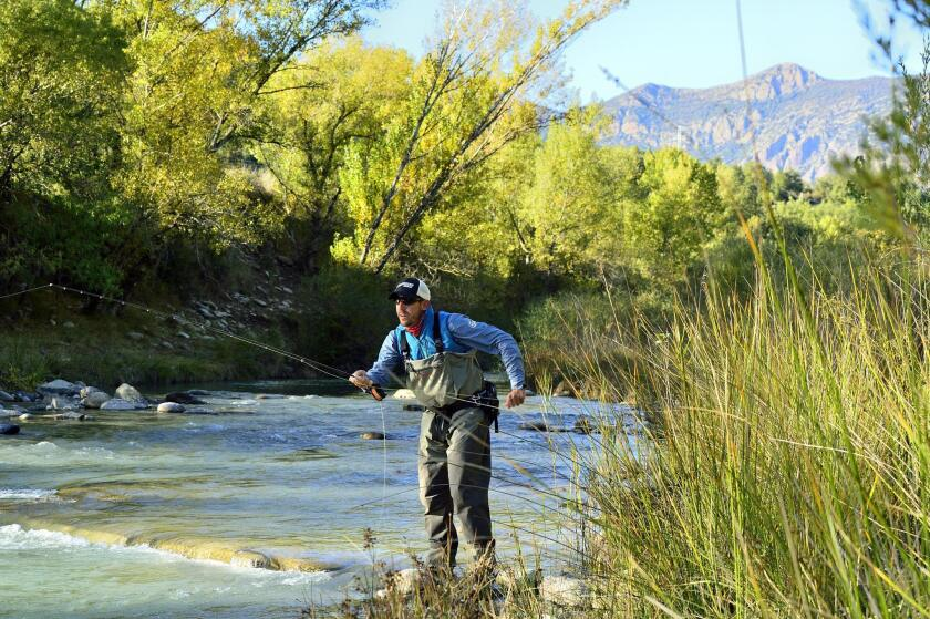 You can fish in the Pyranees mountains and/or tour the area's monasteries and wineries on an October tour.