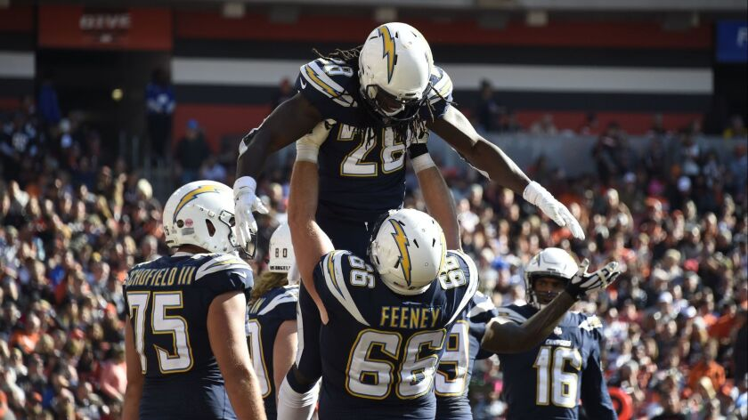 Los Angeles Chargers v Cleveland Browns