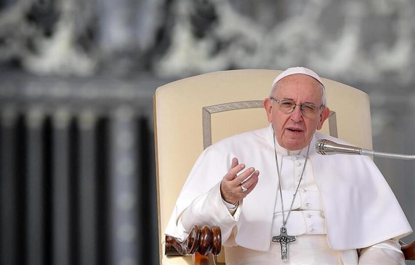 Fotografía del papa Francisco. EFE/Archivo
