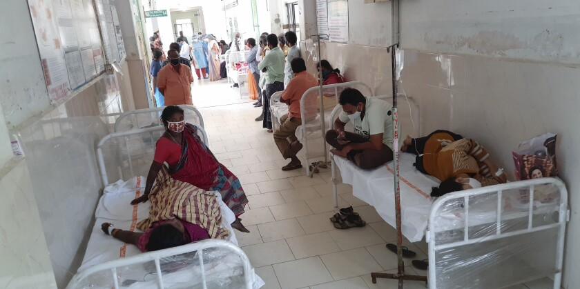 Mystery Illness Kills One, Hospitalizes Over 200 in Southern India