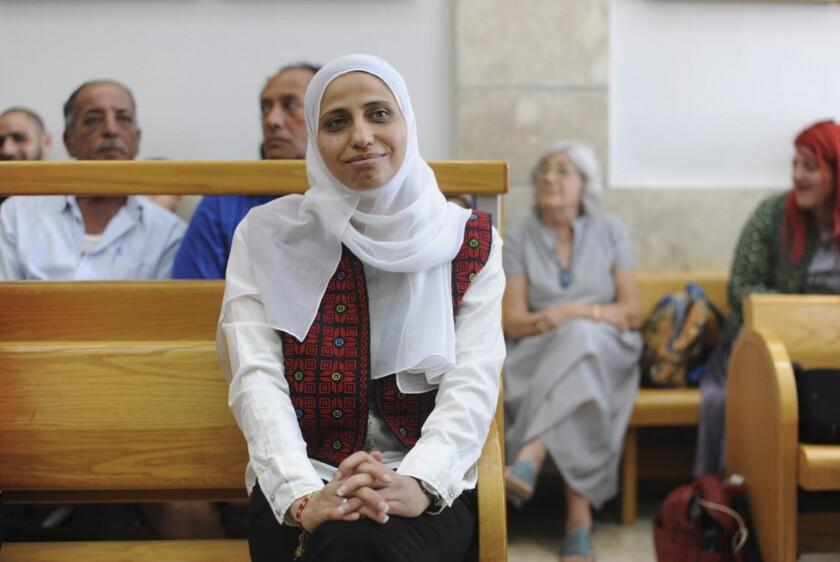 Arab poet Dareen Tatour