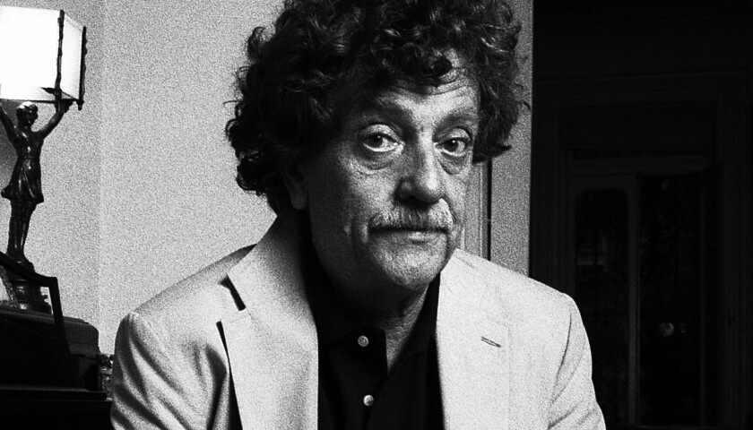 A long-delayed documentary on Kurt Vonnegut may be completed with crowdfunding from Kickstarter.