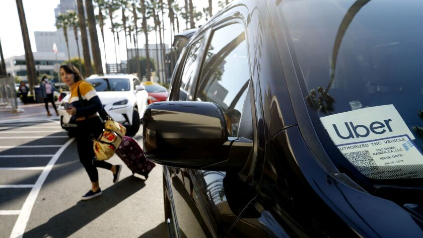 Taxing Uber and Lyft rides is L A  County's latest idea to
