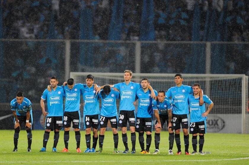 En la imagen, los jugadores de Belgrano de Argentina. EFE/Archivo