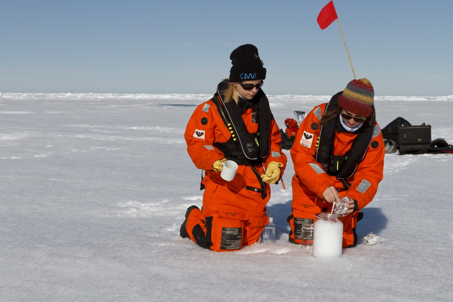 Microplastic in the atmosphere is making its way to the Arctic