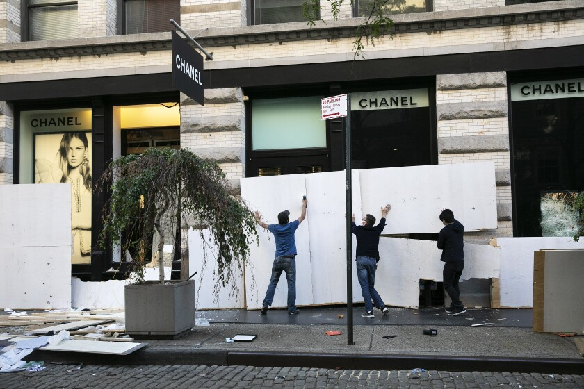 America Protests New York City