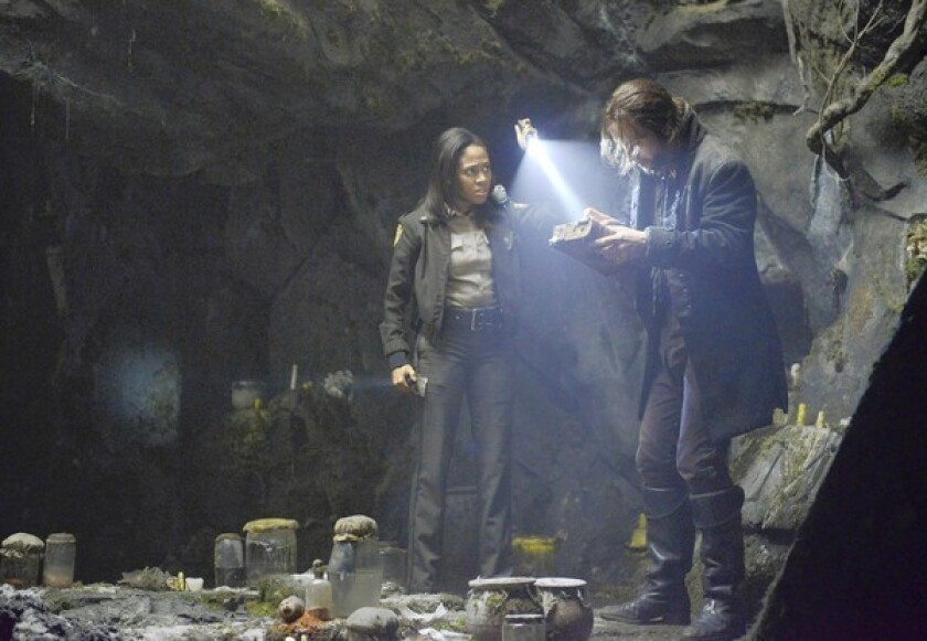 Review: 'Sleepy Hollow' a zany spook-fest of a police procedural