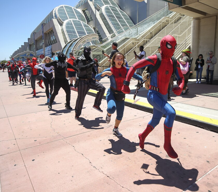 Comic-Con, Saturday