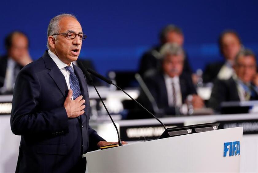 En la imagen, el presidente de la Federación de Fútbol de Estados Unidos, Carlos Cordeiro. EFE/Archivo