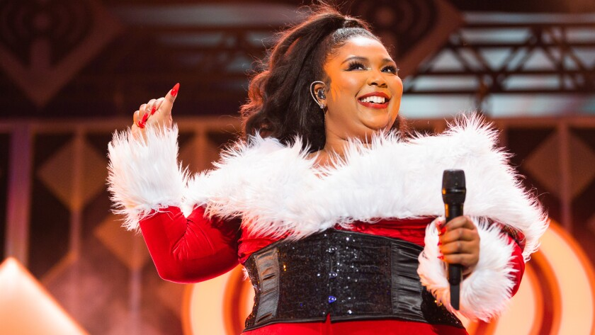 "Lizzo's 2019 performance in ""iHeartRadio Jingle Ball Greatest Moments"" on the CW."