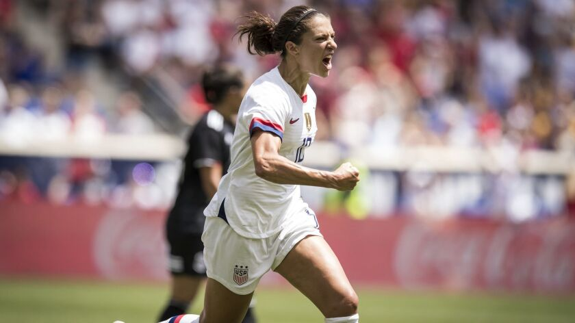 World Cup was a difficult time for Carli Lloyd