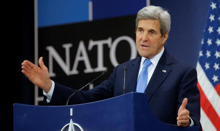 """El secretario de Estado, John Kerry, exigió hoy al régimen sirio y a Rusia un cese al fuego """"inmediato y duradero"""" en la ciudad de Alepo, al tiempo que pidió a toda la comunidad internacional que presione en este sentido. EFE/ARCHIVO"""