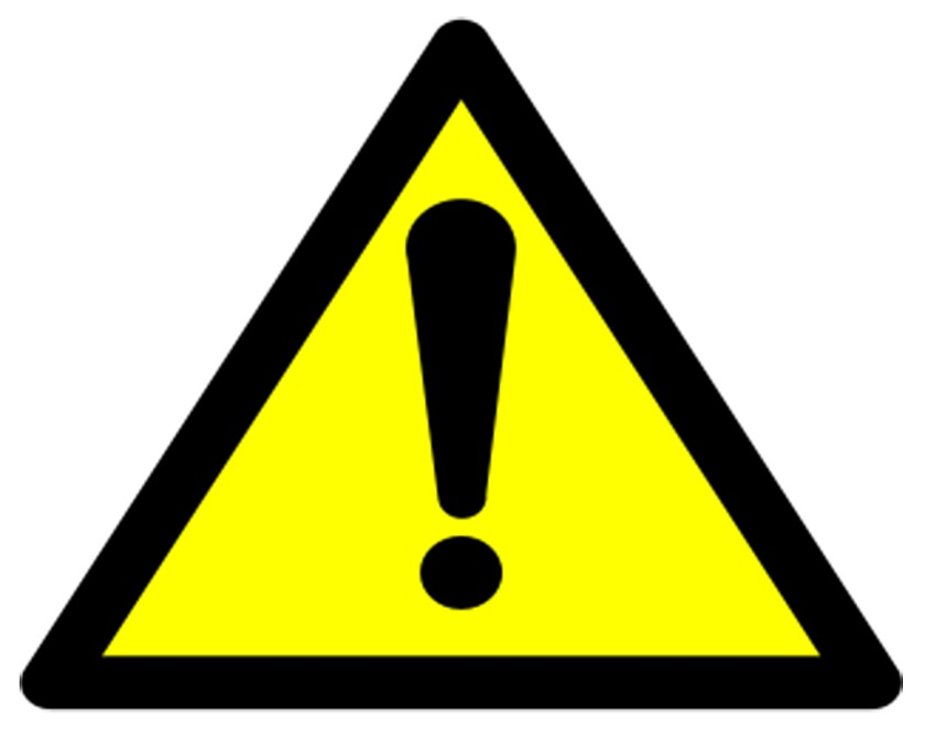 Warning symbols required to be included on most safe harbor warnings for exposures to listed chemica