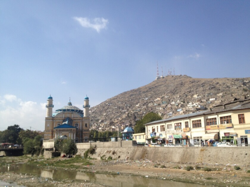 A view of the Shah-Do Shamshira in Kabul, Afghanistan, shown in October 2014. A woman was killed by a mob near the shrine March 19 after reportedly burning a Koran.