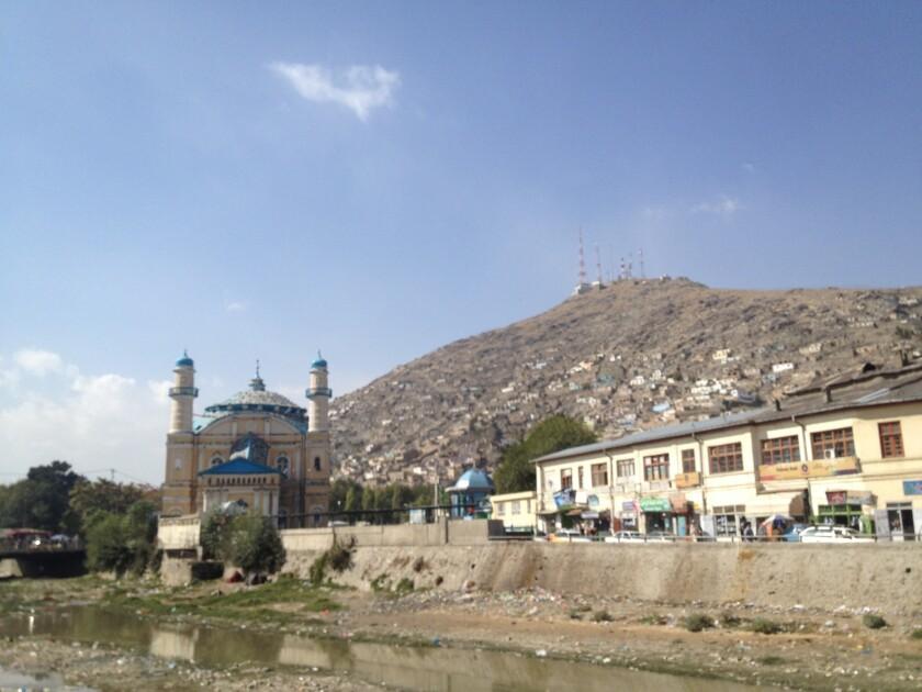 Shah-Do Shamshira shrine, Kabul, Afghanistan